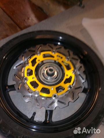 Новые тормозные диски на переднее колесо 2 шт 89787426110 купить 2