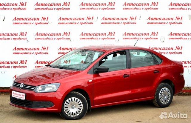 Купить Volkswagen Polo пробег 70 000.00 км 2014 год выпуска