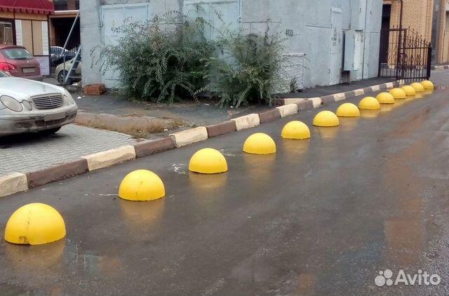 купить полусферы из бетона