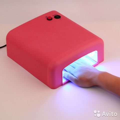 Уф лампа для ногтей новая 89500896165 купить 1