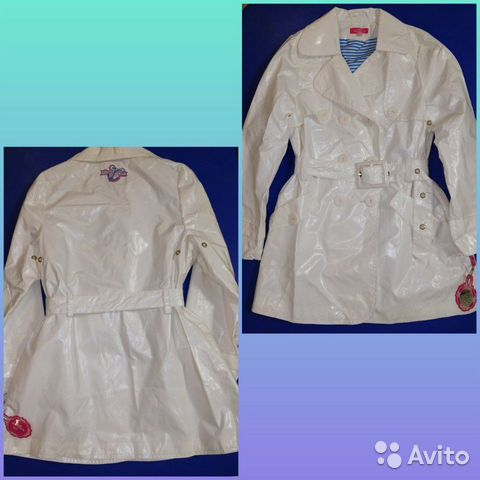 Куртка, плащ, кардиган, кофты для девоч 116-128см