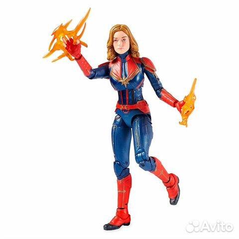 Фигурка Marvel Select Captain Marvel (Disney Store купить 5