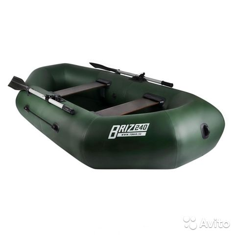 Лодка Бриз 240 (зеленый) /Boat briz 240N (green) 89130903119 купить 1