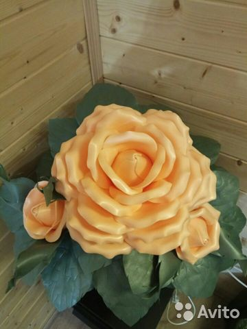Кустик розы - ночник 89087396991 купить 2