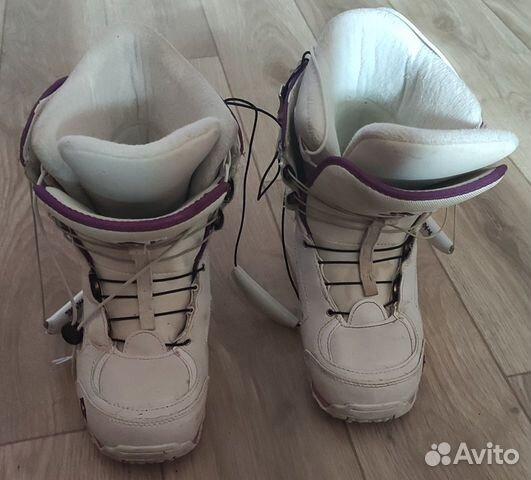 Сноубордические ботинки женские Atom купить 1