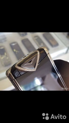 Vertu Konstruktion T med diamanter