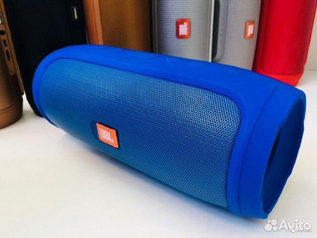 Портативная колонка JBL Charge 4 синяя 89081399218 купить 1
