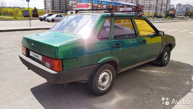 ВАЗ 21099, 1991 89051885856 купить 5