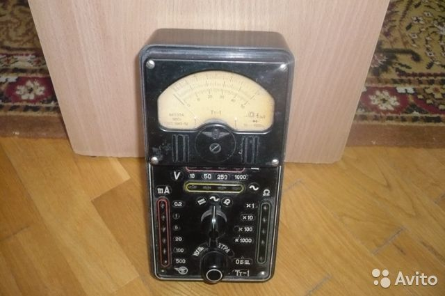 Измерительный прибор Тт-1 СССР 89064168175 купить 3