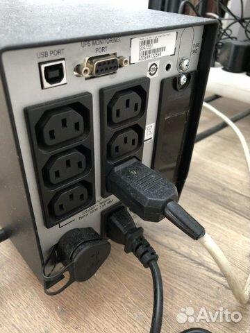 APC Smart UPS 750 с новыми батареями