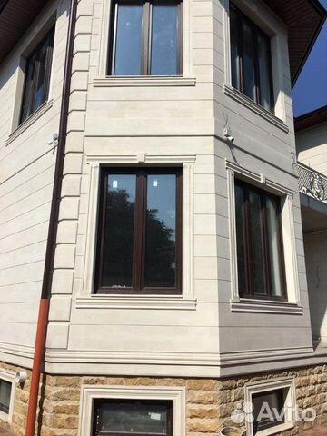 Облицовка фасада Дагестанской плиткой купить 3