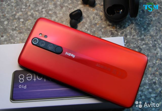 Xiaomi Redmi Note 8 Pro 128gb Coral Orange Kupit V Kaliningrade Bytovaya Elektronika Avito