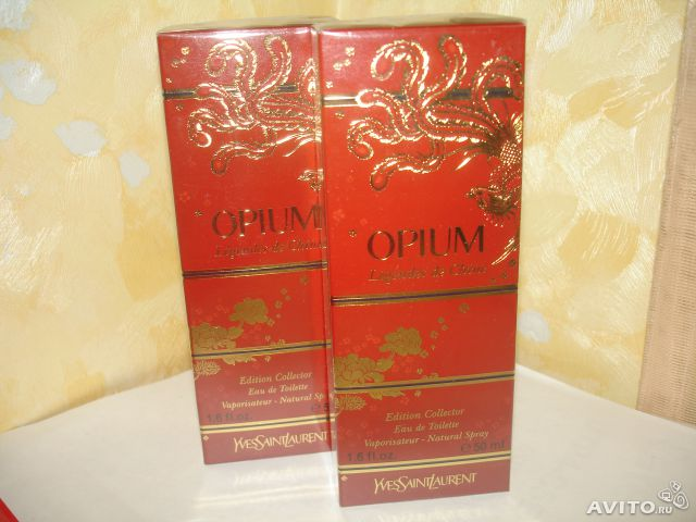 Yves Saint Laurent Opium Legendes de Chine 50ml— фотография №1