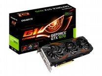 Видеокарта gigabyte nVidia GeForce GTX 1070