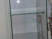 Витрина (стойка Квадрат-стеклянная).Шкаф для офиса