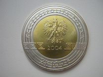 Польша 10 злотых 2004 Олимпийские игры в Афинах