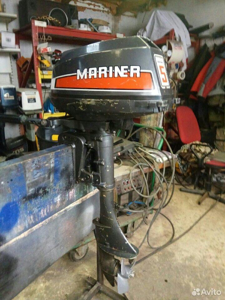 Лодочный мотор mariner 5