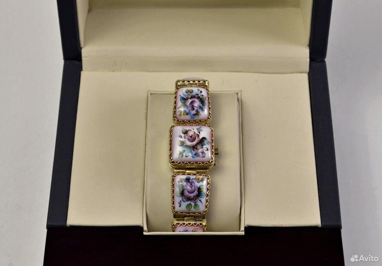 Женские часы Чайка Новые 17 камней Россия 1998 год  89525003388 купить 1
