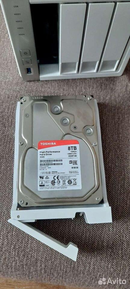 Жесткий диск Toshiba 8тб