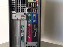 Компьютер Dell Core-2 Duo E8400/4gb/160hdd/монитор