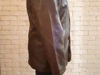 Зимняя куртка эко кожа