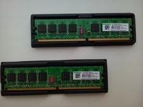 Оперативная память DDR2 2*1гб