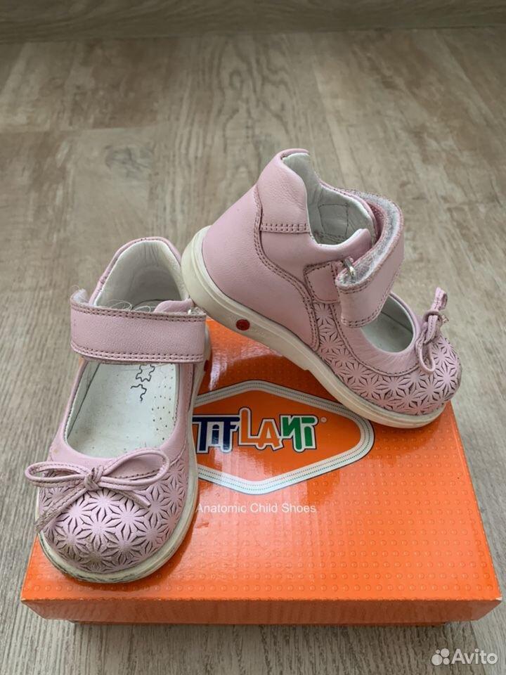 Туфли для девочки 21р  89124370677 купить 1