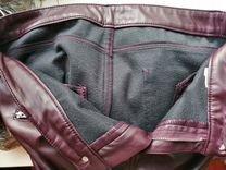 Кожаные женские штаны