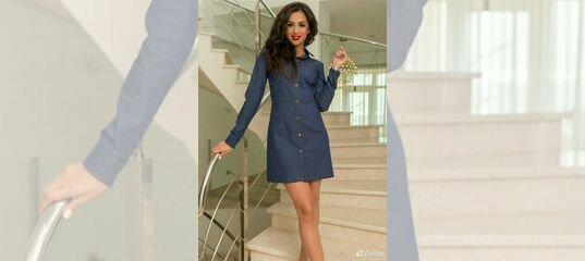 f6e39807492 Джинсовое платье купить в Карачаево-Черкесии на Avito — Объявления на сайте  Авито