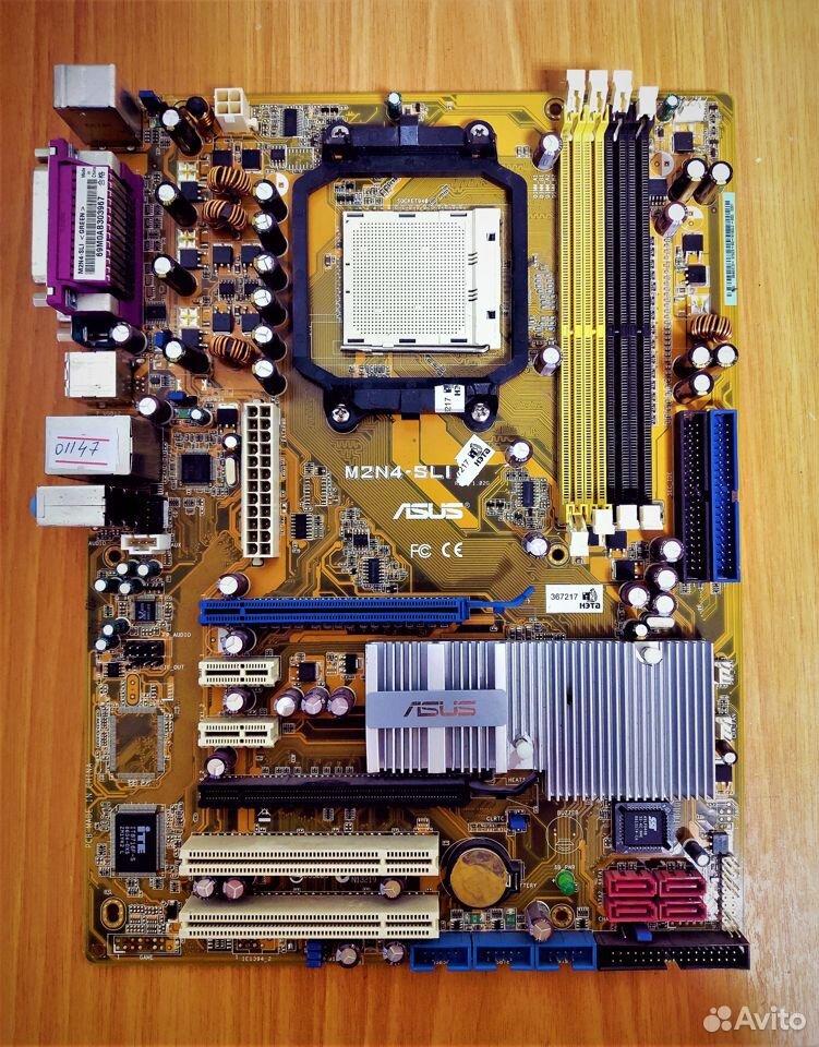 Материнская плата AM2 Asus M2N4-SLI rev. 1.02G  89538085333 купить 1
