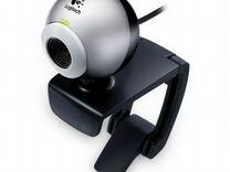Веб-камера Logitech v-ubb39 прищепка + подставка