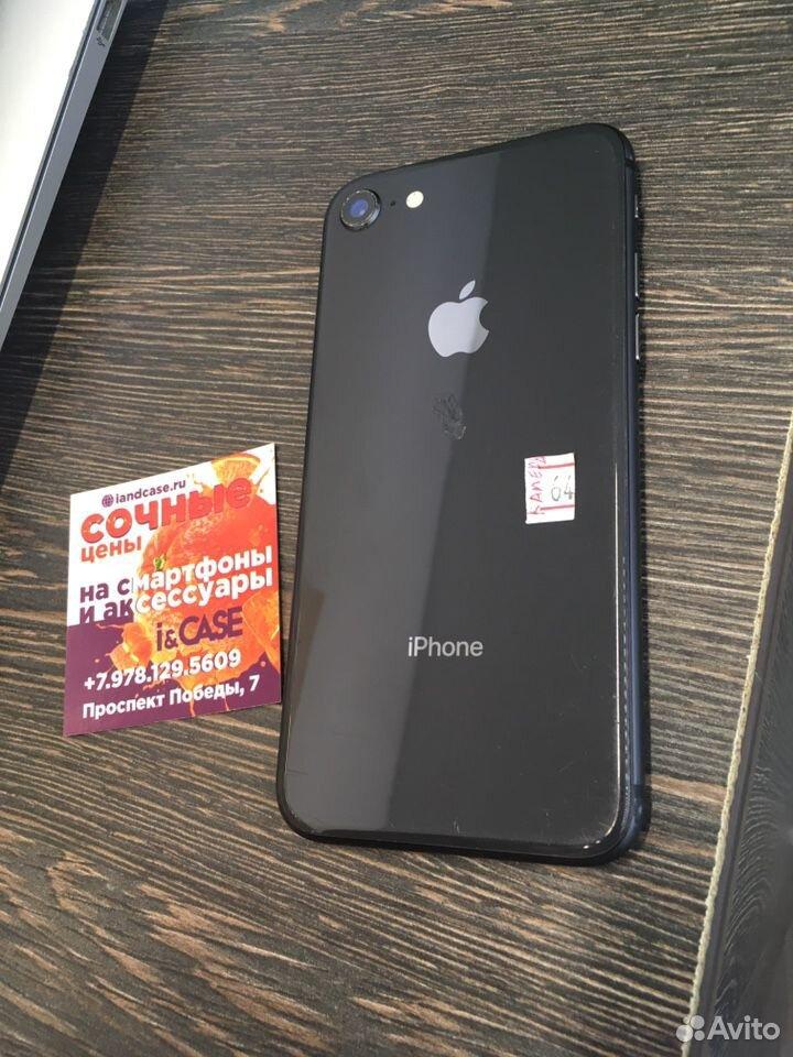 iPhone 8 64gb black оригинал гарантия  89781295609 купить 5