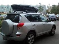 Бокс Брумер на Toyota RAV4, монтаж — Запчасти и аксессуары в Краснодаре