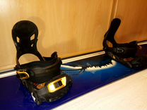 Сноуборд Rossignol 167+крепления+ботинки