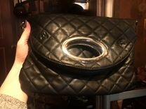 Сумка crossbody чёрная — Одежда, обувь, аксессуары в Москве