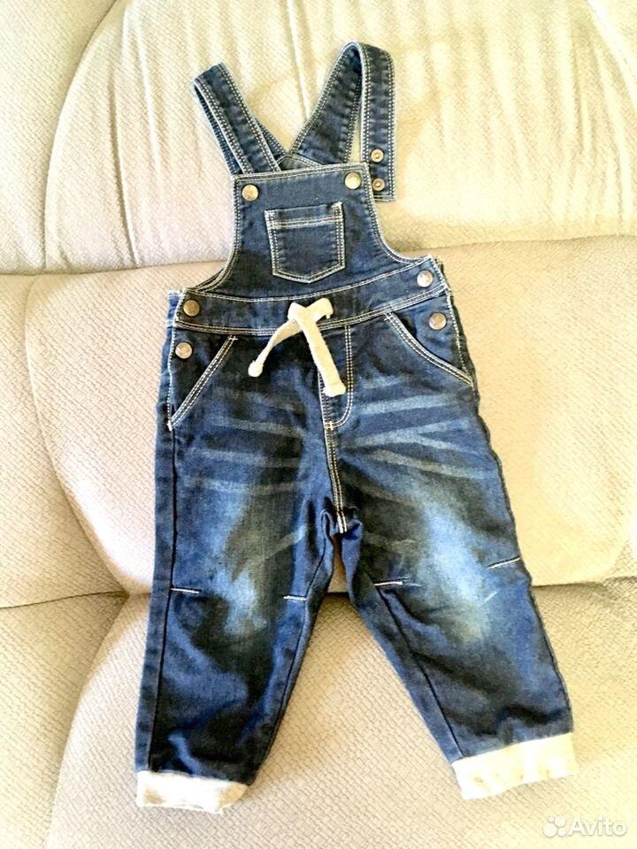 Детский джинсовый комбинезон  89187861219 купить 1