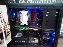 Игровой компьютер на Intel i7 4790K. С монитором