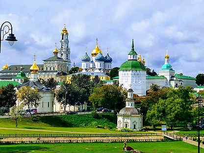 Экскурсия по Свято-Троицкой Сергиевой лавре