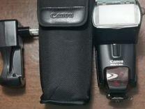 Фотоаппарат Canon 500 D, фотовспышка 580 ex, объек