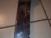 Накладка переднего бампера mercedes w166 ml clas