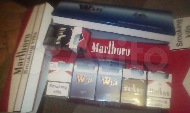 блок сигарет купить москва