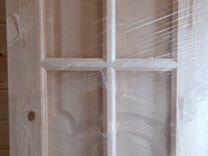 Новая дверь в упаковке