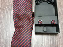 Галстук, запонки и платок — Одежда, обувь, аксессуары в Санкт-Петербурге