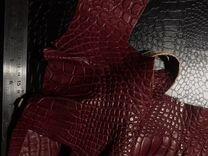 Кожа крокодила обрезки — Одежда, обувь, аксессуары в Москве
