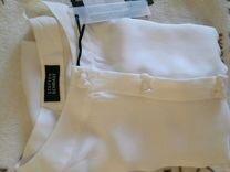 Блузка р.44- 48 натуральный шелк. Новая