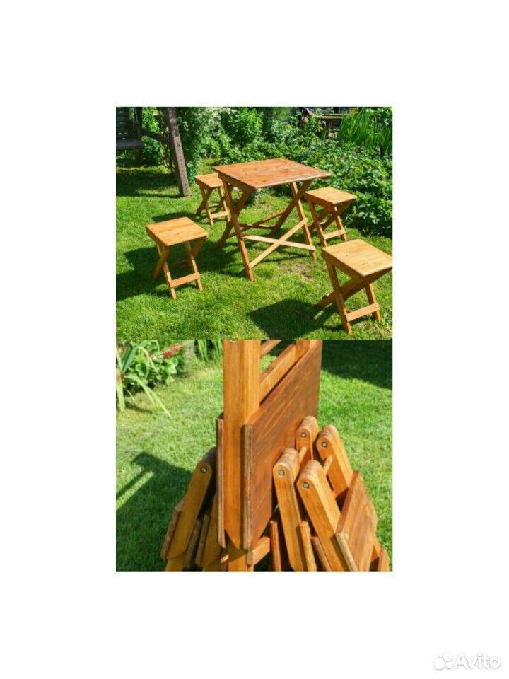 Складной стол и табурет  89831353384 купить 1
