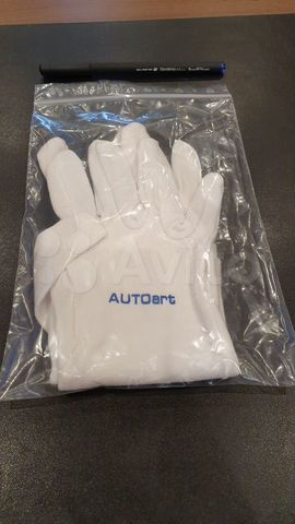 перчатки для работы с моделями
