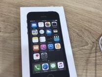 iPhone 5s space gray на 16 гб