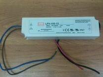 Блок питания LED 12В,8.5А,102Вт,IP67 LPV-100-12, A
