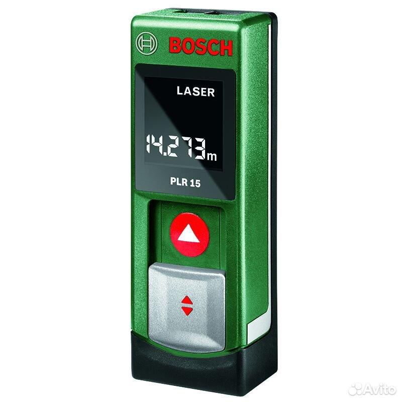 89124002166  Дальномер лазерный bosch PLR 15